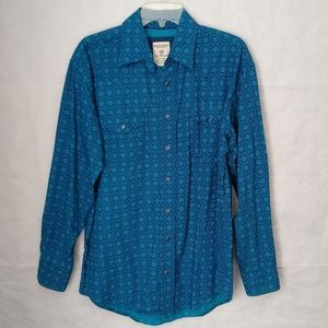 Panhandle Rough Stock Western Shirt Size M